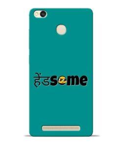 Handsome Smile Redmi 3s Prime Mobile Cover
