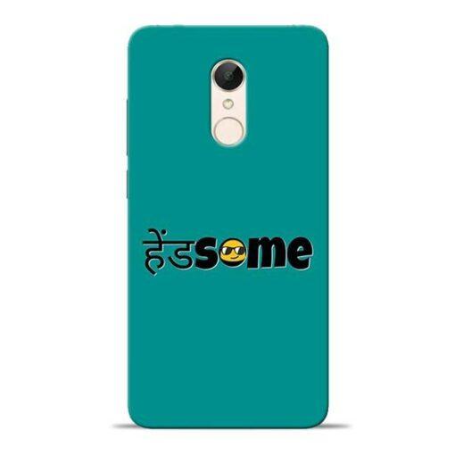 Handsome Smile Redmi 5 Mobile Cover