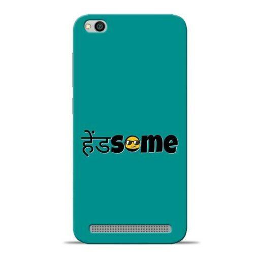 Handsome Smile Redmi 5A Mobile Cover