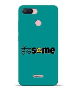 Handsome Smile Redmi 6 Mobile Cover