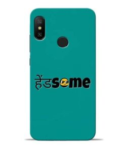 Handsome Smile Redmi 6 Pro Mobile Cover