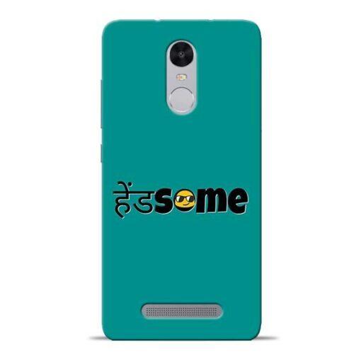 Handsome Smile Redmi Note 3 Mobile Cover