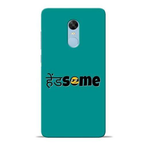 Handsome Smile Redmi Note 4 Mobile Cover