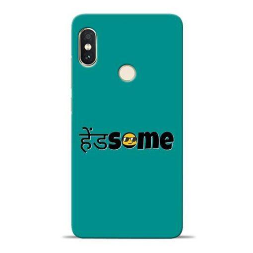 Handsome Smile Redmi Note 5 Pro Mobile Cover