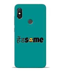Handsome Smile Redmi Note 6 Pro Mobile Cover