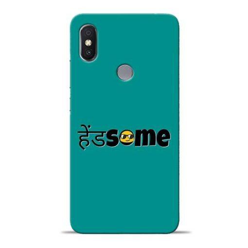 Handsome Smile Redmi S2 Mobile Cover