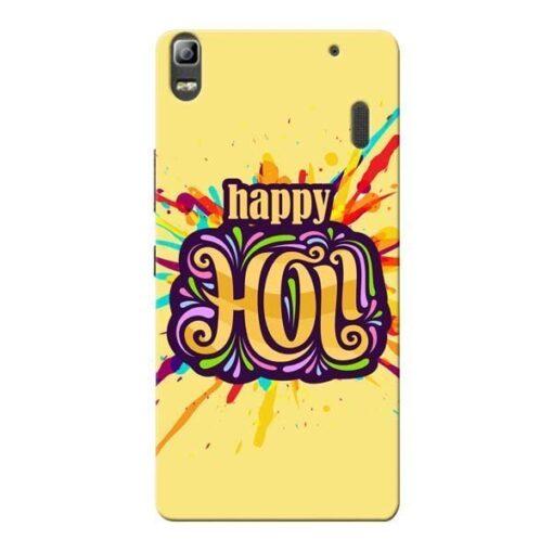 Happy Holi Lenovo K3 Note Mobile Cover
