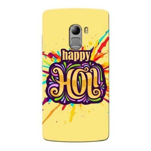 Happy Holi Lenovo Vibe K4 Note Mobile Cover