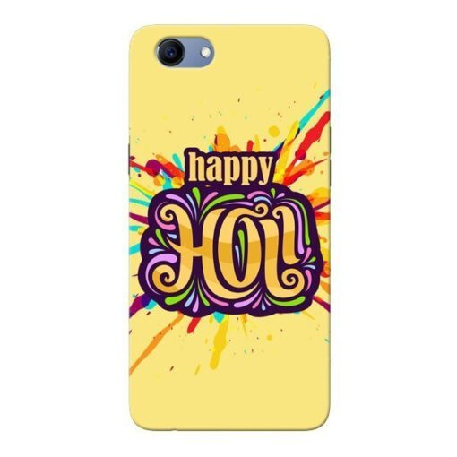 Happy Holi Oppo Realme 1 Mobile Cover