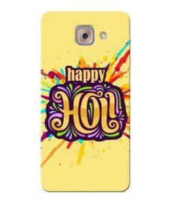 Happy Holi Samsung Galaxy J7 Max Mobile Cover
