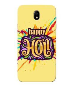 Happy Holi Samsung Galaxy J7 Pro Mobile Cover