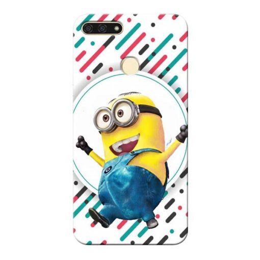 Happy Minion Honor 7A Mobile Cover