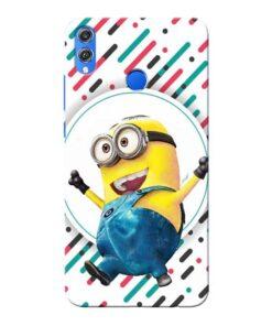 Happy Minion Honor 8X Mobile Cover