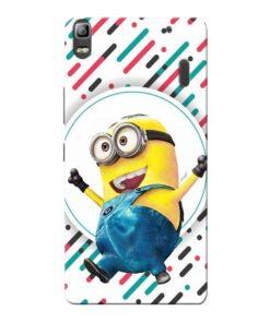Happy Minion Lenovo K3 Note Mobile Cover
