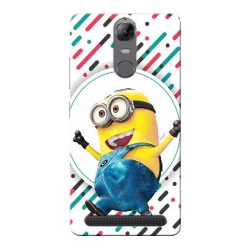 Happy Minion Lenovo Vibe K5 Note Mobile Cover