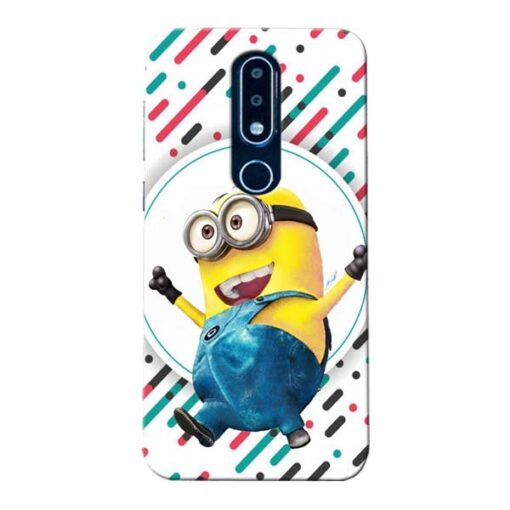 Happy Minion Nokia 6.1 Plus Mobile Cover