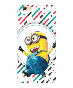 Happy Minion Oppo F3 Mobile Cover