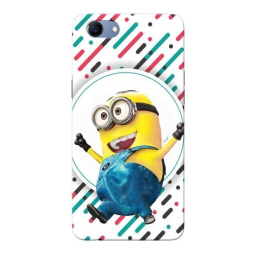 Happy Minion Oppo Realme 1 Mobile Cover