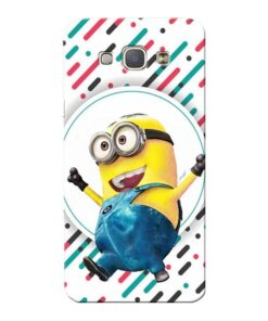 Happy Minion Samsung Galaxy A8 2015 Mobile Cover