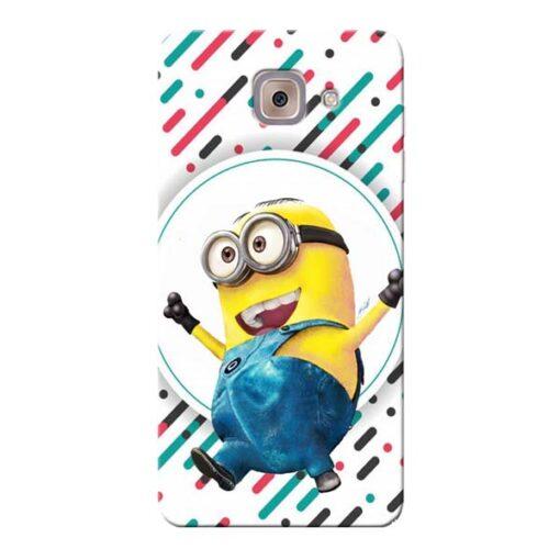 Happy Minion Samsung Galaxy J7 Max Mobile Cover