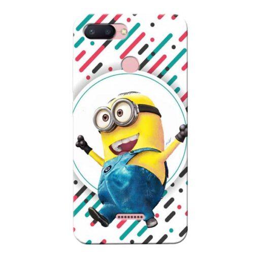 Happy Minion Xiaomi Redmi 6 Mobile Cover