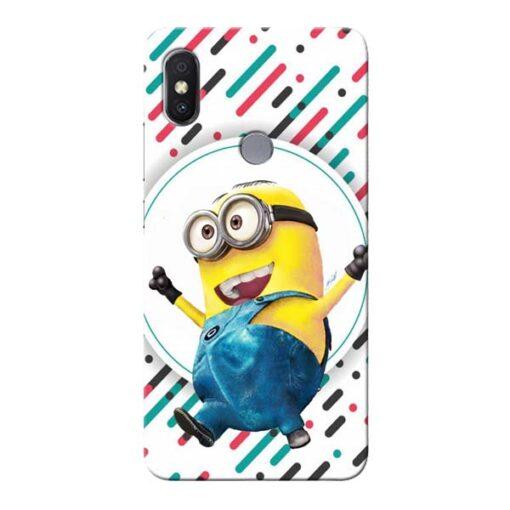 Happy Minion Xiaomi Redmi S2 Mobile Cover