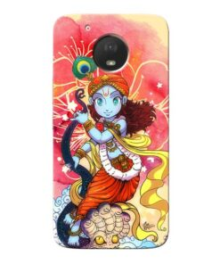Hare Krishna Moto E4 Plus Mobile Cover