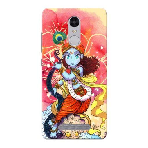Hare Krishna Xiaomi Redmi Note 3 Mobile Cover