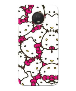 Hello Kitty Moto E4 Plus Mobile Cover