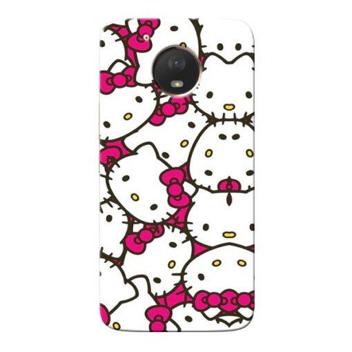 Hello Kitty Moto E4 Plus Mobile Cover