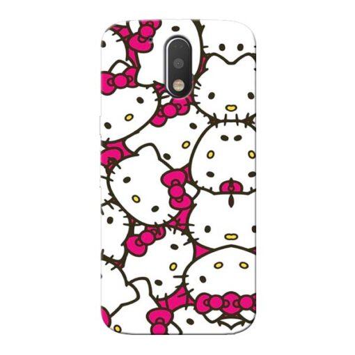 Hello Kitty Moto G4 Plus Mobile Cover