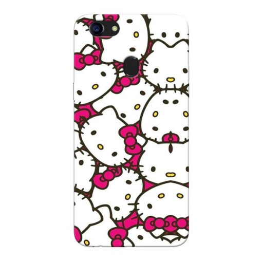 Hello Kitty Oppo F5 Mobile Cover