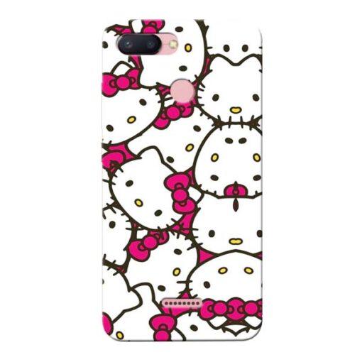 Hello Kitty Xiaomi Redmi 6 Mobile Cover