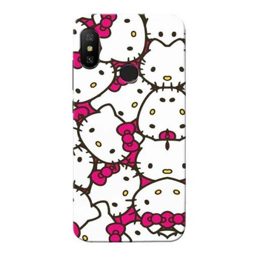Hello Kitty Xiaomi Redmi 6 Pro Mobile Cover