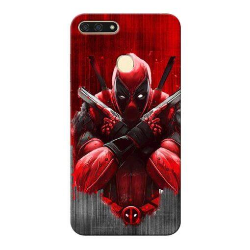 Hero Deadpool Honor 7A Mobile Cover