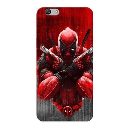 Hero Deadpool Oppo F1s Mobile Cover
