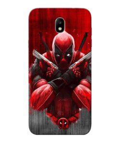 Hero Deadpool Samsung Galaxy J7 Pro Mobile Cover
