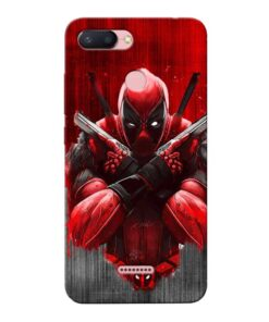 Hero Deadpool Xiaomi Redmi 6 Mobile Cover