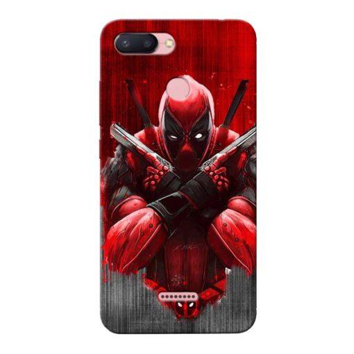 Hero Deadpool Xiaomi Redmi 6 Mobile Cover