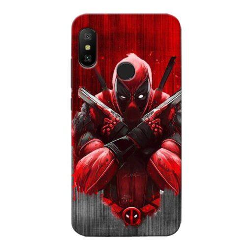 Hero Deadpool Xiaomi Redmi 6 Pro Mobile Cover