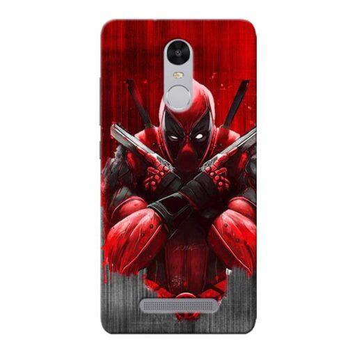 Hero Deadpool Xiaomi Redmi Note 3 Mobile Cover