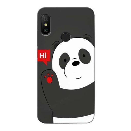 Hi Panda Xiaomi Redmi 6 Pro Mobile Cover