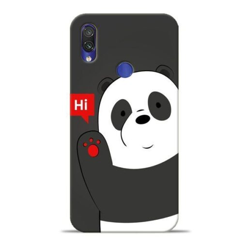 Hi Panda Xiaomi Redmi Note 7 Mobile Cover