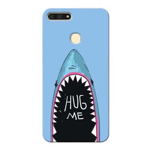Hug Me Honor 7A Mobile Cover