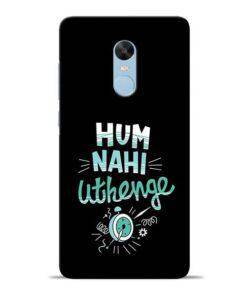 Hum Nahi Uthenge Redmi Note 4 Mobile Cover