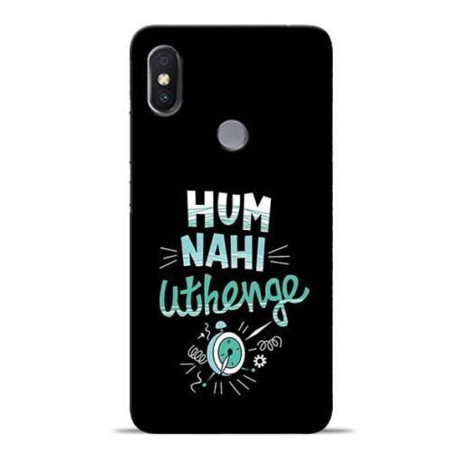 Hum Nahi Uthenge Redmi Y2 Mobile Cover
