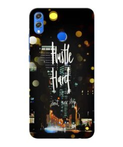 Hustle Hard Honor 8X Mobile Cover