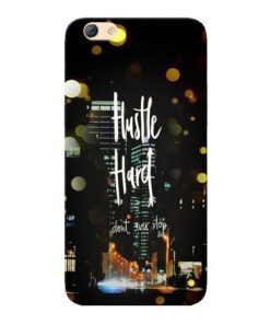 Hustle Hard Oppo F3 Mobile Cover