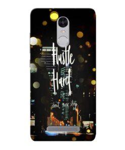 Hustle Hard Xiaomi Redmi Note 3 Mobile Cover