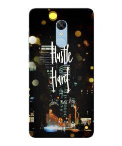 Hustle Hard Xiaomi Redmi Note 4 Mobile Cover